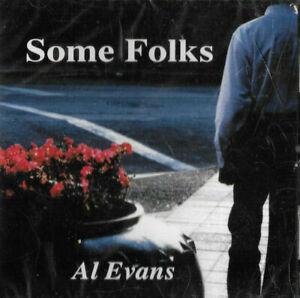AL EVANS * SOME FOLKS * SEALED CD ALBUM UNITED STATES ISSUE