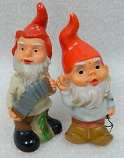 Original Vintage Heissner Blowmold Plastic Gnome Figure Doll Lot W Germany 926