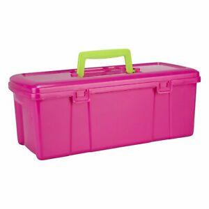 Plastic Utility Art Craft Sewing Fun DIY Storage Tool Box Organizer Carry Case