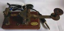 Vintage Morse Key - The Swedish key -  Lennart Pettersson & Co. Hoverberg.