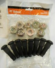Bobcat Rim Lug Nut 6564669 x 8 for Skid Steer Wheel Rim Stud Bolt 6709170 x 8