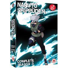 Naruto Shippuden Complete Series 3 Box Set Episodes 101-153 DVD
