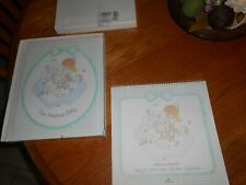 Precious Moments Baby Calendar And Baby Album- Adorable Set!