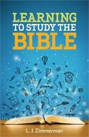 Learning to Study the Bible Student Journal (Paperback or Softback)