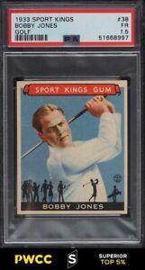 1933 Sport Kings Golf Bobby Jones #38 PSA 1.5 FR (PWCC-S)