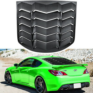 for Hyundai Genesis 2010-2016 Rear Window Louver Windshield Sun Shade Cover ABS