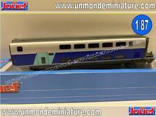 Voiture Intermédiaire TGV 2N2 EuroDuplex SNCF JOUEF - HJ 3004 - Echelle 1/87