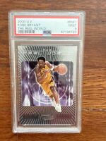 2000 Kobe Bryant UD Ultimate Victory #RW1 The Reel World Short Print, PSA 9