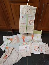 BRUIN JUNGLE COT QUILT BUMPER FITTED SHEET NAPPY STACKER PICTURES ELEPHANT