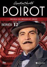 Agatha Christie's Poirot, Series 12 New DVD! Ships Fast!