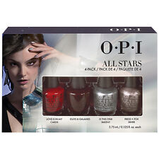 [OPI] Nail Polish Lacquer ALL STARS Limited Edition Best Sellers 4pc Set NEW
