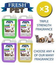 Fresh Pet Niche Chien Désinfectant Triple Force Parfum 4x5L Assorti