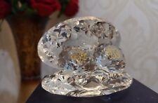Crystal Glass ALLAH & MUHAMMAD Beautiful Shell Islamic Home Decor Eid Gift Boxed