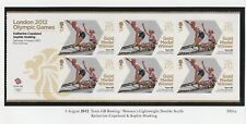 GB 2012 Olympic Gold Medal Women's Lightweight Double Sculls Sheetlet SG 3351a