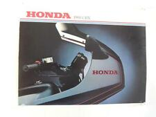 NOS 1981 CBX Honda Dealer Brochure L231