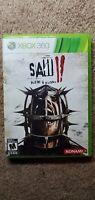 Saw II: Flesh & Blood Microsoft Xbox 360 Saw 2 Complete in Box CIB