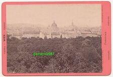 Kabinettfoto Wien Panorama Oscar Kramer um 1890 ! (F1796