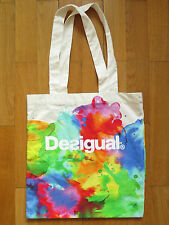 DESIGUAL CANVAS TOTE SHOPPING BAG | Luxemburg Promotional Cotton Shopper