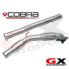 Vw18 COBRA SPORT VW GOLF MK5 GTI 1K 04-09 Anteriore Tubo SPORTS CAT TUBO DI SCARICO
