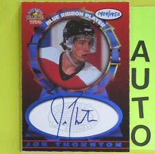JOE THORNTON  1997  AUTOGRAPH COLLECTION BLUE RIBBON PLAYER  1404/1950  Bruins