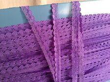 Ajuste del cordón Púrpura Encaje Vintage 5 años muñecas y muebles para el Hogar Vintage Boda nos