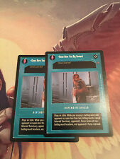 Come Here You Big Coward Reflections III Shield  NM star wars ccg swccg