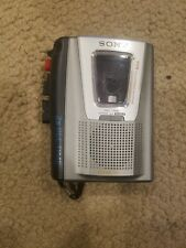 Sony Tcm-20Dv Voice Activated Portable Cassette Recorder Tested Working
