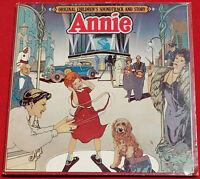 Annie Original Children's Soundtrack, Story LP & Game 1982 Original Vinyl Album