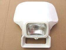 New Honda XR250 XR350 XR500 XR600 XR 200 250 350 400 500 600 White Headlight