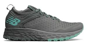 New Balance Women's Fresh Foam Hierro v4 Trail Running Shoes Size 8 B Grey Teal