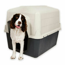 "New Dog House, Medium, 32""L x 26""W x 24""H Quick Assembly Ventilation"