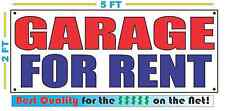 GARAGE FOR RENT Banner Sign NEW XXL Size Best Quality for the $$$$