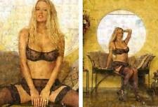 JENNA JAMESON 2 different photo mosaic cm. 31x42 - 2 POSTERS !