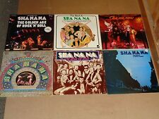 SHA NA NA lot 7x LP is here to stay BEST OF the night is still young GOLDEN AGE