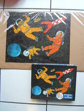 TINTIN /  BOITE  PUZZLES DE 200 PIECES / EXPLORERS ON THE MOON / COMPLET