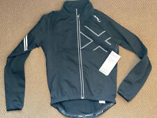 NWT 2xu Mens Wind Break 180 Cycling Jacket Small Black