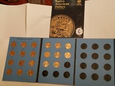 Circulated 20 Coin Set! 2009-2018 P&D Sacagawea Native American Dollars Thorpe!