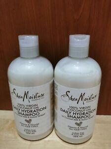 Shea Moisture Coconut Oil Daily Hydration Shampoo 384ml New