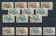 LO59921 Great Britain 1966 territories football cup soccer fine lot MNH