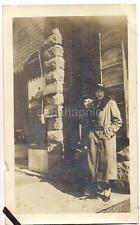 W State OLEAN NY Women Signs Westbrook Academy Meloy Cohen Cigar Mfg 1920s Photo