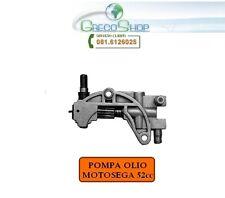 Pompa olio per motosega/Ricambio per motosega 52cc