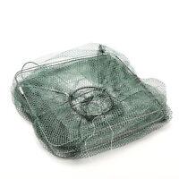 Reliable Easy New Nylon Mesh Frame Fishing Shrimping Crawfish Fish Net Trap LE