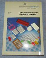 Vtg TELEFUNKEN ELECTRONIC 1986 Data Book SC J51