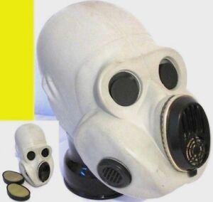 NVA Gasmaske 10 stk NVA Filter !!  Mundschutz Gummi Latex Rubber ABC Schutzanzug