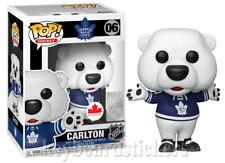 Funko Pop NHL Mascot Hockey Vinyl Figure Gritty, Chance, Blades, Carlton, Hawk .