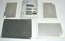 2003 INFINITI G35 OWNERS MANUAL GUIDE BOOK SET WITH CASE OEM