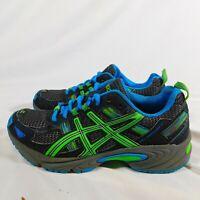 ASICS Running Shoes - Juniors size 4 - Womens Size 6 Gel Venture 5 Gray - Black