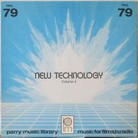 VA New Technology Vol. 4 LP Parry Music Library – Electronic/Synth Music