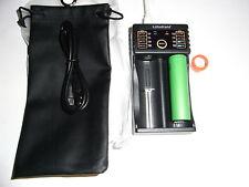 1caricabatteria/charger +1 Sony Konion 18650 US18650-VTC6  3,7V 3120mAh 28A/11C