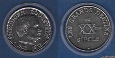 Médaille - Theodore Roosevelt 1858 - 1919 - Les Grands Destins de XXème Siècle